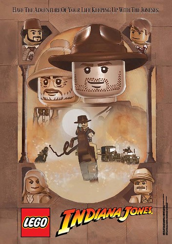 Lego Indiana Jones Movie Poster