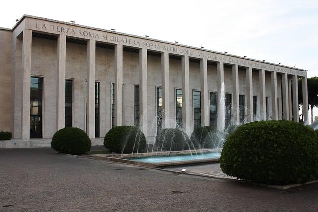 Roma capitale ed il mito della terza roma for Uffici roma eur