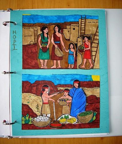 Hopi clothing notebooking
