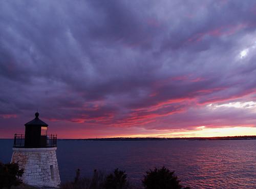 sunset lighthouse clouds bay rhodeisland soe castlehill newportri narragansettbay mywinners anawesomeshot impressedbeauty aplusphoto