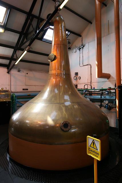 Spirit still, Bowmore distillery