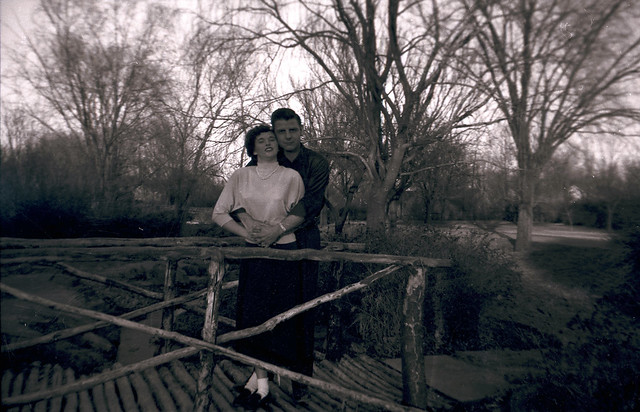 found negative: couple on bridge