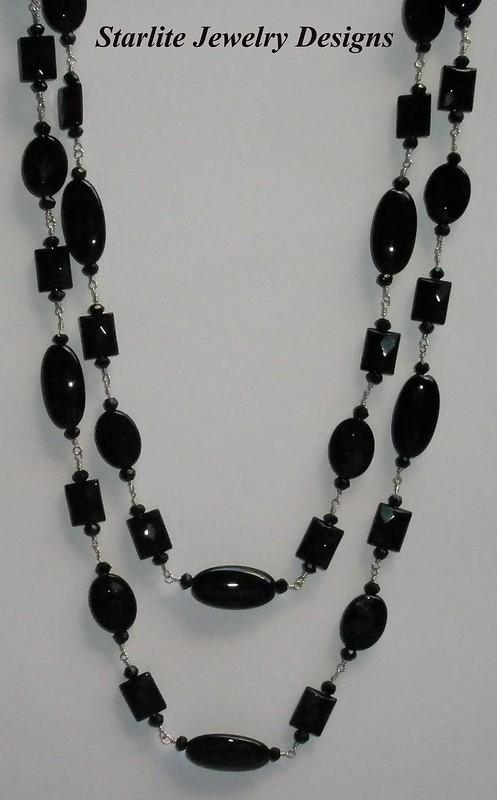 Starlite Jewelry Designs Black Onyx Necklace Jewelry Design
