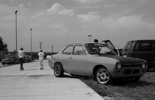 MkI Escort with sidepipe by hyperleggera