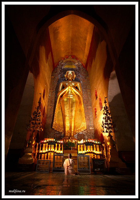 Buddha at the Ananda Temple, Burma