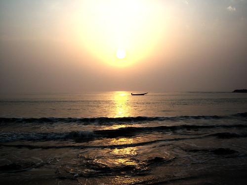 sea beach sunrise boat masterphotographer