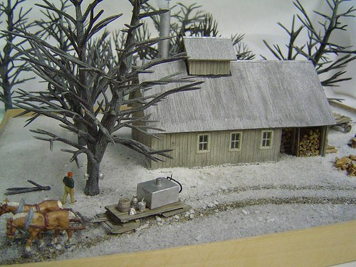 New England Sugar House Ho Scale Kit Cld Ho 007