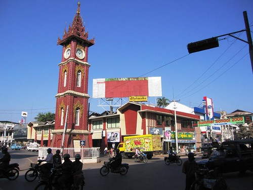Clock Tower - Mandalay, Myanmar (Burma)