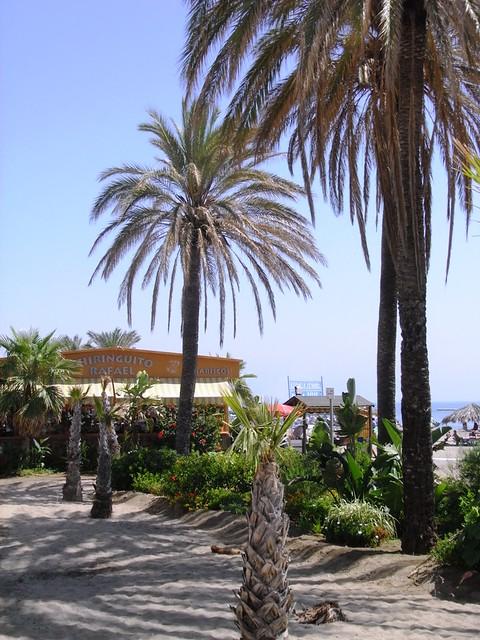 La Playa de Benalmádena con Torremolinos