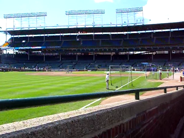 Video: The view from the Steve Bartman seat at Wrigley Field