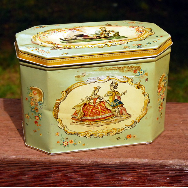 English Biscuit Tin By Huntley And Palmers A Photo On