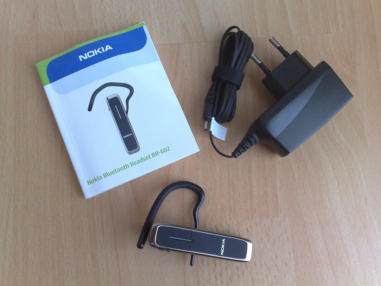 test nokia bluetooth headset bh 602 s60inside. Black Bedroom Furniture Sets. Home Design Ideas