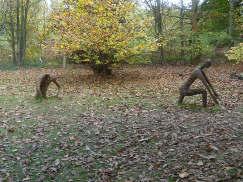 Wicker figures Reminds me of Cowden to Eridge. Milford to Godalming