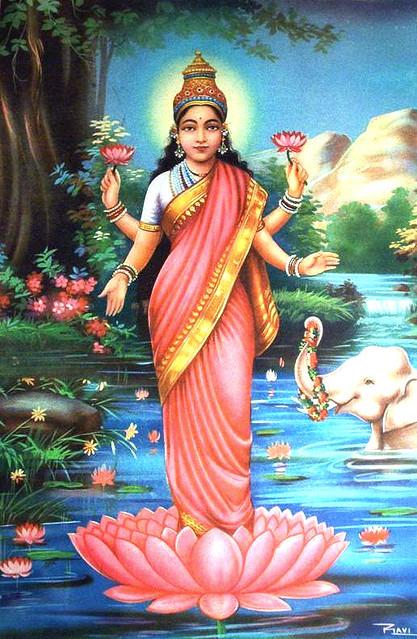 Ashwapurvam Rathamadhyam  Hastinada Prabodinim  Sriyam Devimupahvaye  Shrirmadevirjushatam