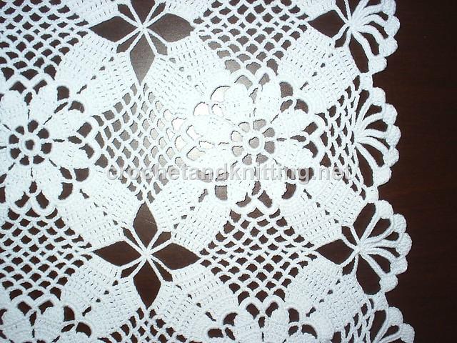 Free Crochet Patterns Doily Square : photo