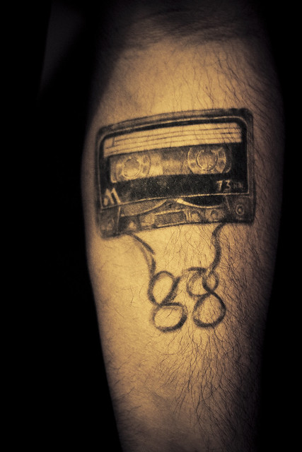 Cassette Tattoo Flavor Fest