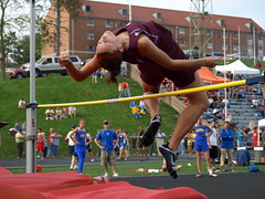 athletics, track and field athletics, sports, high jump, physical fitness, heptathlon, person, athlete,