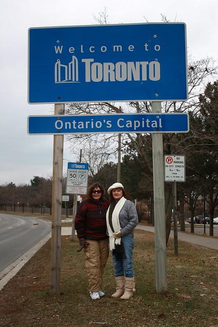 Toronto Welcome Sign
