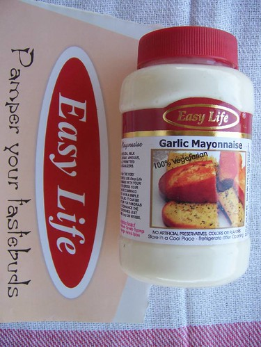 Easy Life garlic mayonnaise