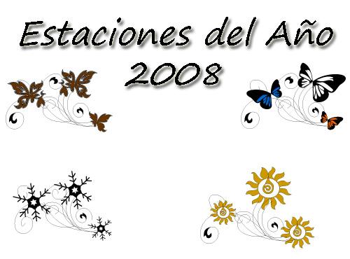 ano 2008 son los iconos de las 4 estaciones del ano que disene para ...