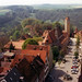 Rothenburg (Rathaus Tower view - Klingengasse)