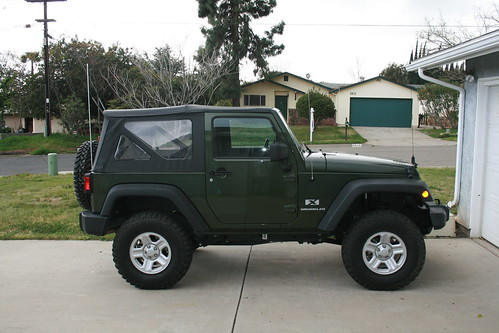 2007 jeep wrangler x 2dr for sale 18 750 obo san diego. Black Bedroom Furniture Sets. Home Design Ideas