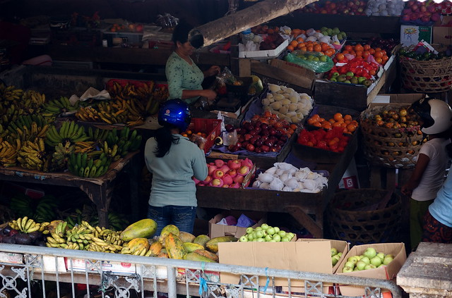 Fruit market, Ubud