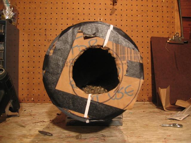 Drum prototype - 2 vanes