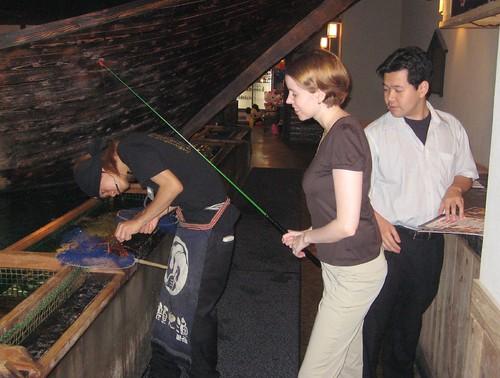 Fun fishing restaurant: Zauo