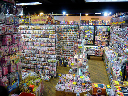 Capsule toys and figures shop