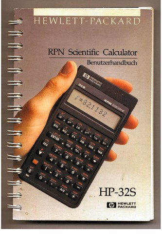 HP 32S Scientific Calculator Benutzerhandbuch