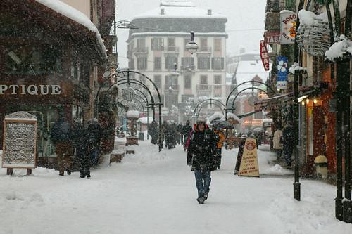 Weekend skiing in Chamonix
