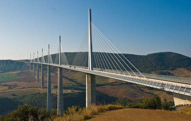 Millau Viaduct sequence 10, Aveyron, France, Sept. 2008