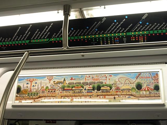 Subway map new york coney island 5k