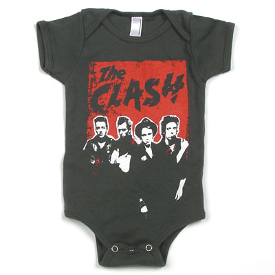 Punk Fashion Clothes on Exclusive Celebrate Original Uk Punk With This Killer Clash Baby One