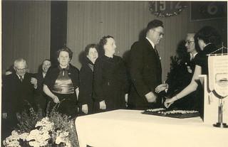 Taxiverein 6 15 15 Jubiläum 1952