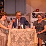 DSC_0142 - P. Switzer Photo Credit (Left to Right) * = Equity Actor  Sharon Kay White plays Louise *James Nantz plays Bill *Anne Oberbrockling plays Nanny