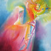 St. Clare of Assisi, 2008 by Stephen B Whatley by Stephen B. Whatley