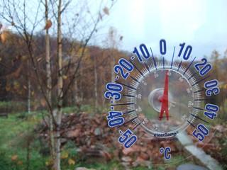 美瑛五稜的氣溫 @ 2008-10-28 下午