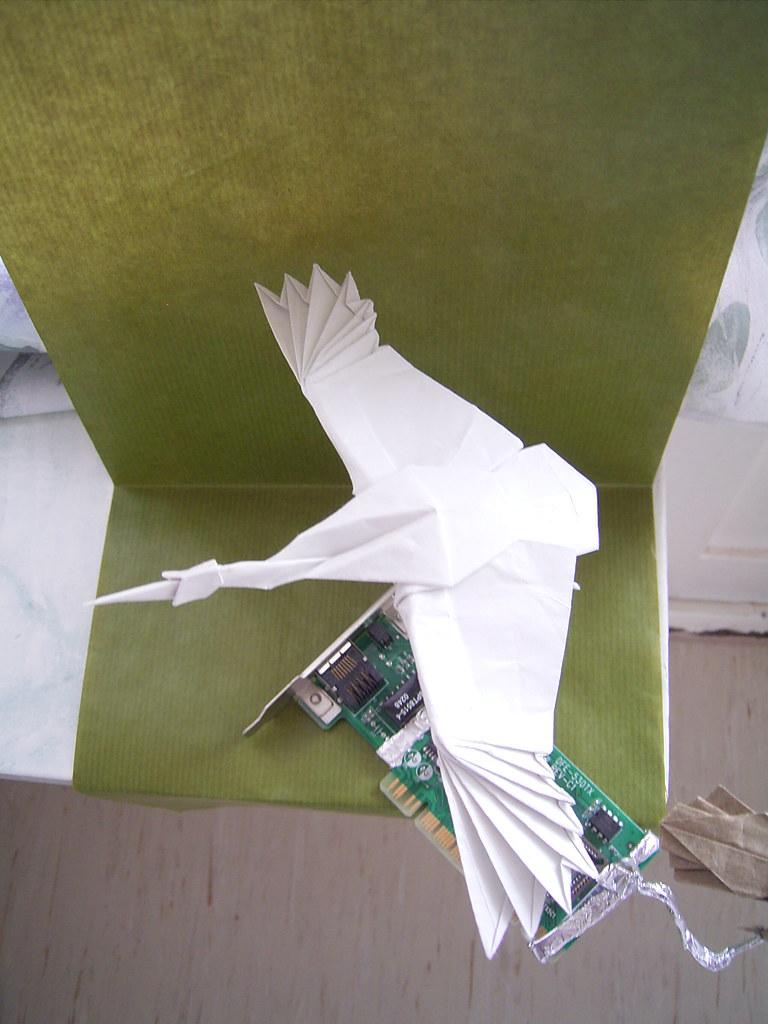 Flying Crane Satoshi Kamiya