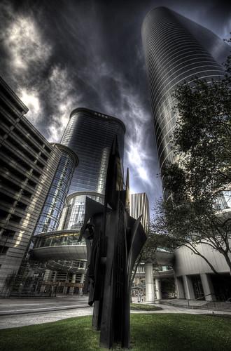 building statue architecture skyscraper texas tx houston explore hdr photomatix 3exp