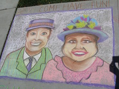 Chalked Billy & Josie, #6 by pennylrichardsca (now at ipernity)