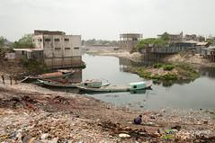 Transporting Bricks in Old Dhaka - Bangladesh