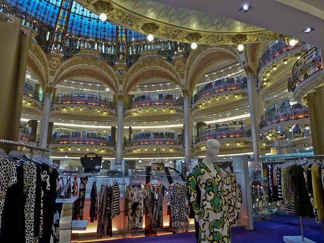 Galeries Lafayette Haussmann. Paris
