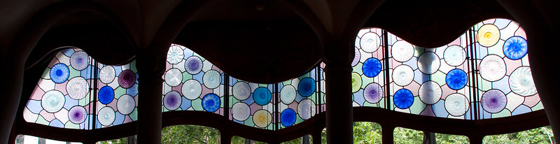Casa Batllo Stained Glass 3