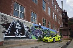 Lotus Elise & Graffiti