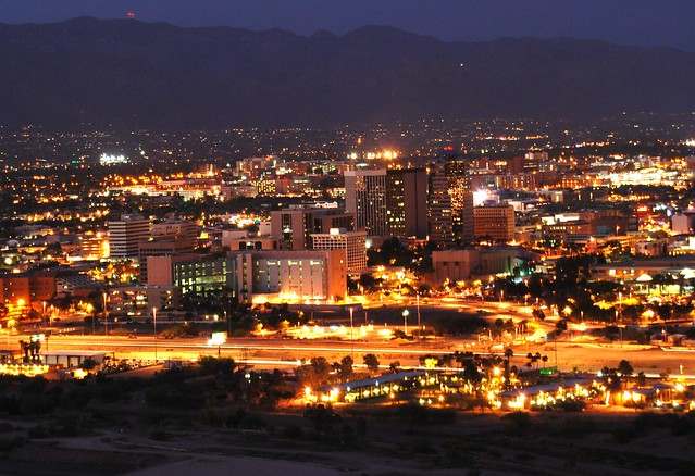 tucson at night nasa - photo #19