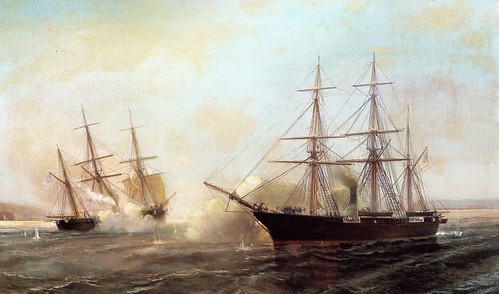 Durand-Brager-_Battle_of_the_USS_Kearsarge_and_the_CSS_Alabama_1864
