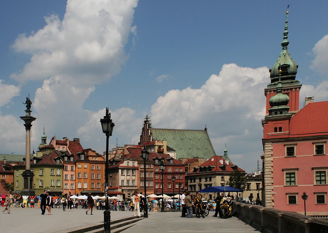 I love my City! Castle's Place-Warsaw