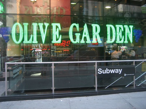 Olive Garden In Times Square To Charge 400 Per Person For